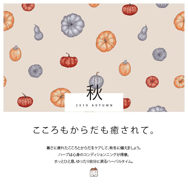 秋のなみきハーブガーデン
